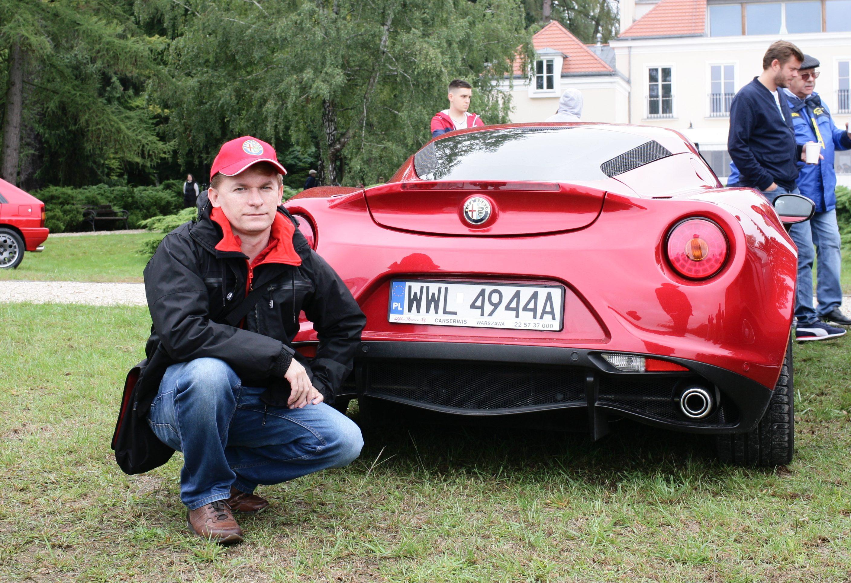 Przygoda z Alfą alfetta Alfa Romeo