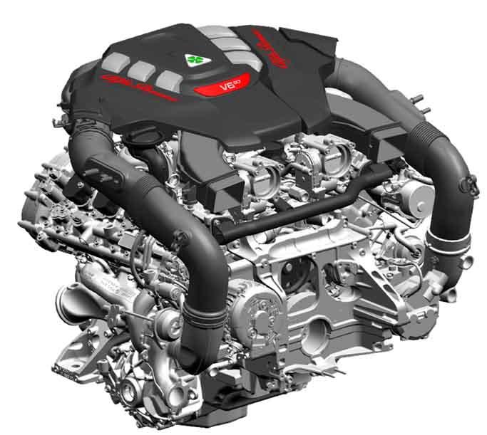2.9 V6 turbo